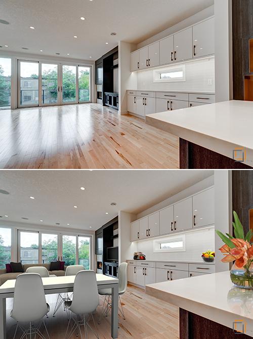 Professional Real Estate Photography Calgary Edmonton Virtual Staging