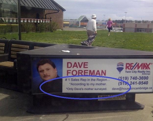 Bus Ad Fail Real Estate Marketing