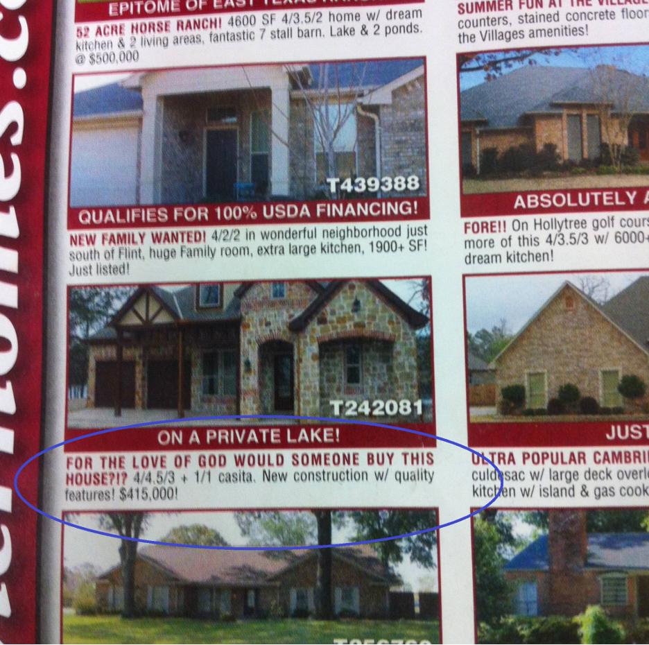 Property Description Fail Real Estate Marketing